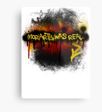 Moriarty was real (fire) Metal Print