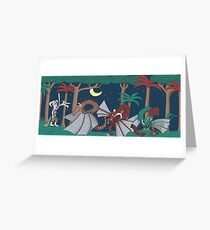 Where the Dragons Are Greeting Card