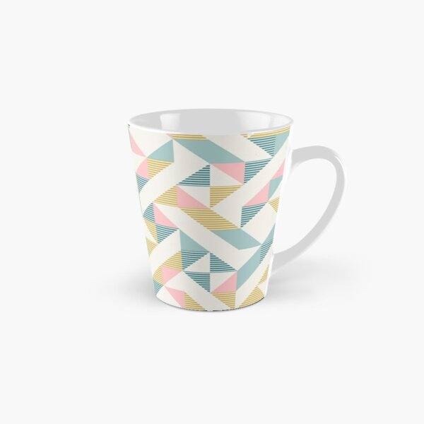 RETRO geometry 10 Tall Mug
