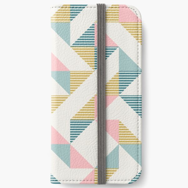 RETRO-Geometrie 10 iPhone Flip-Case
