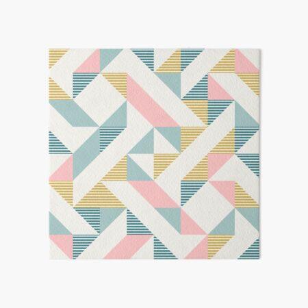 RETRO geometry 10 Art Board Print