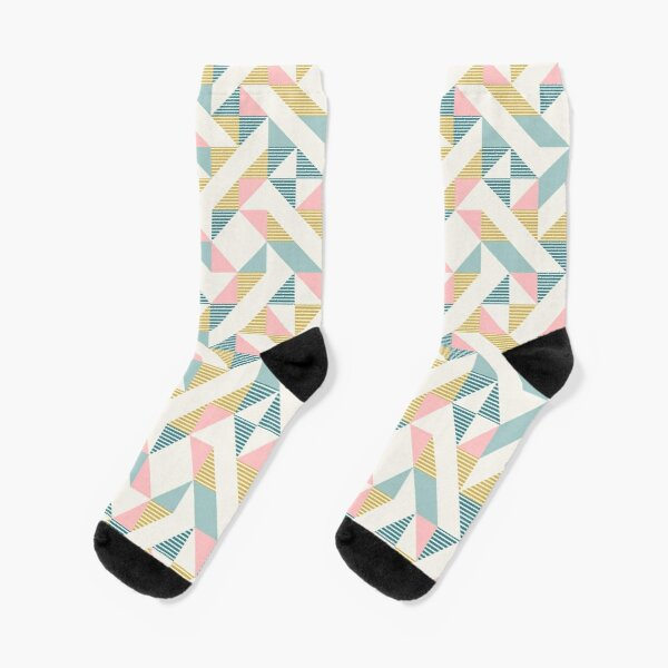 RETRO geometry 10 Socks