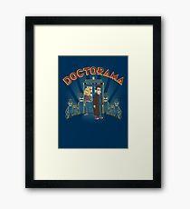 Doctorama Presents! Framed Print