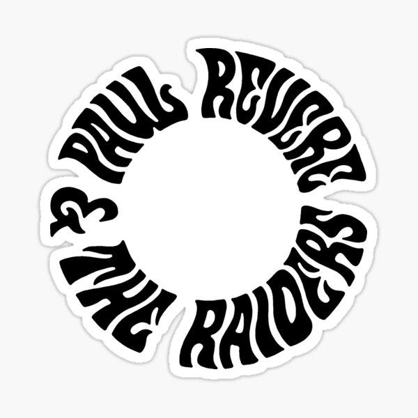 PAUL REVERE & THE RAIDERS SUPER COOL T-SHIRT Sticker