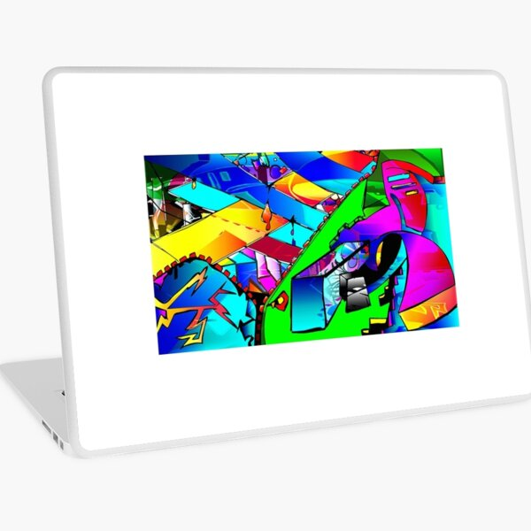 Brazier of Emotions Laptop Skin