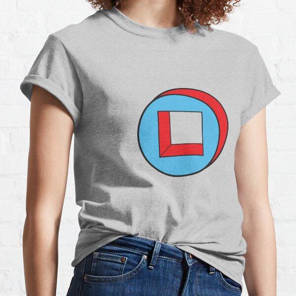 Blue Square / Red Circle Classic T-Shirt