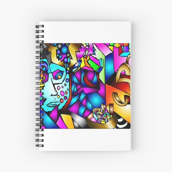 Masked Reality Spiral Notebook
