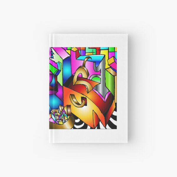 Masked Reality Hardcover Journal