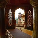 Red Fort in Agra, India by fionapine