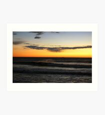Sunrise at Point Judith  Art Print