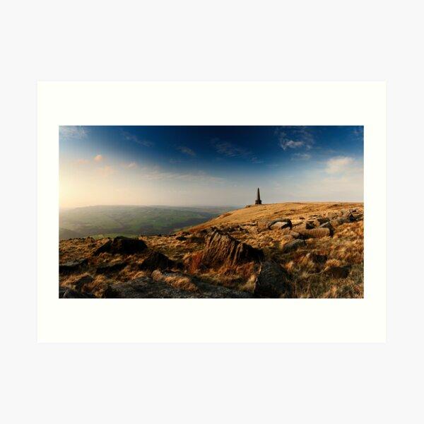 Stoodley Pike Panorama Art Print