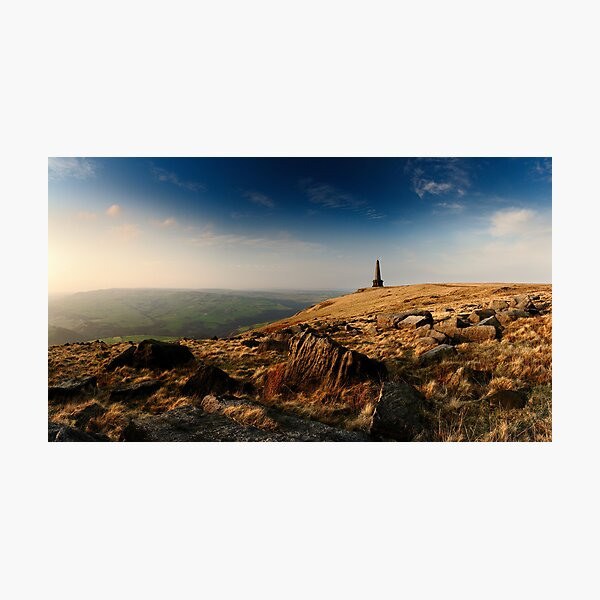 Stoodley Pike Panorama Photographic Print