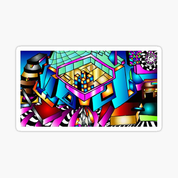 Puzzle With-In Sticker
