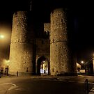 Canterbury's West Gate by rsangsterkelly