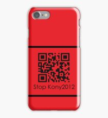 Stop Kony 2012 iPhone Case/Skin
