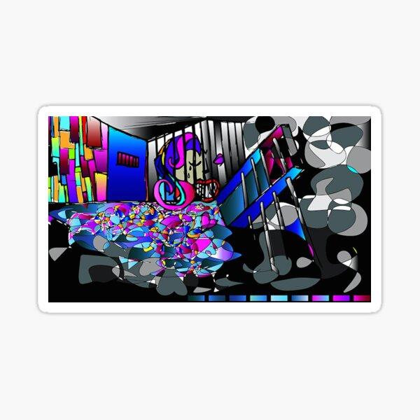 Emotional Colors Sticker