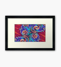 Scrolls and Whirls Framed Print