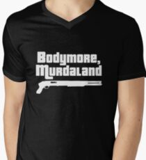 Bodymore, Murdaland Men's V-Neck T-Shirt
