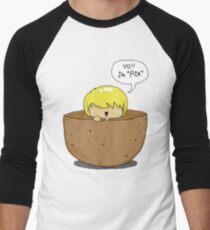 Peeta.. inside a PEETA. PEETA-CEPTION. Men's Baseball ¾ T-Shirt