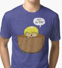 Peeta.. inside a PEETA. PEETA-CEPTION. Tri-blend T-Shirt
