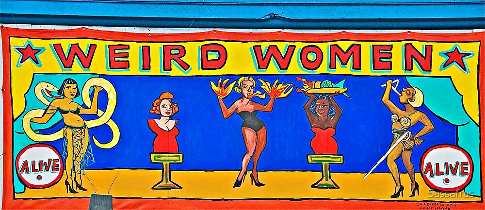 Weird Women: A Sideshow @ Coney Island by Sassafras