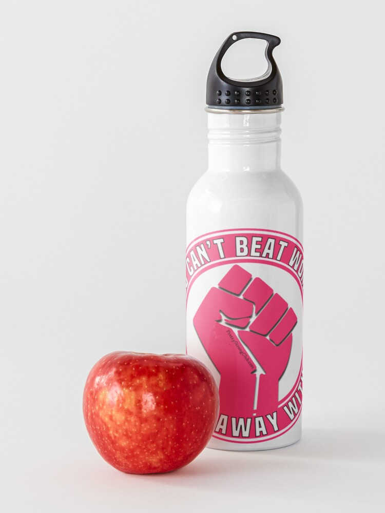 Alternate view of You Can't Beat Women Water Bottle