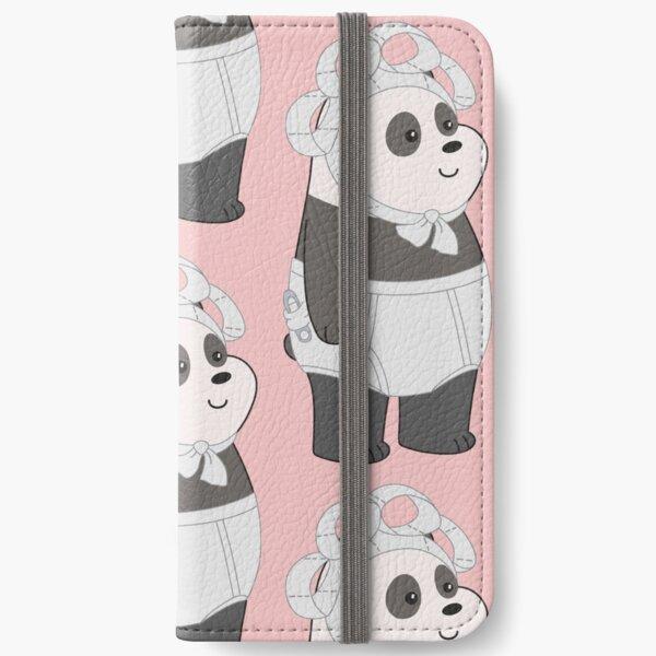 Panda Fundas tarjetero para iPhone