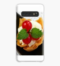 Red Currant Fingerfood Dessert Case/Skin for Samsung Galaxy