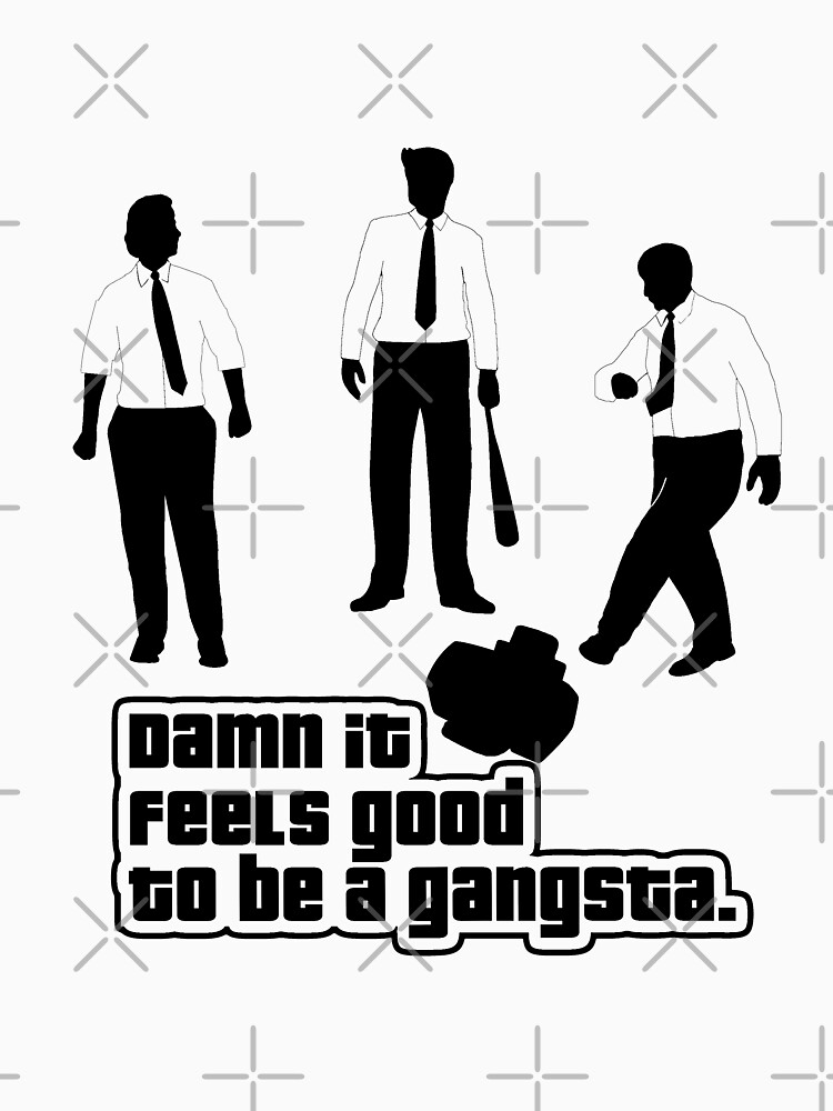 Damn It Feels Good To Be a Gangsta | Unisex T-Shirt