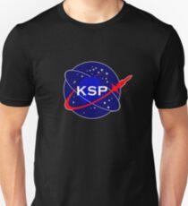 Camiseta unisex Logotipo de la Agencia Espacial KSP