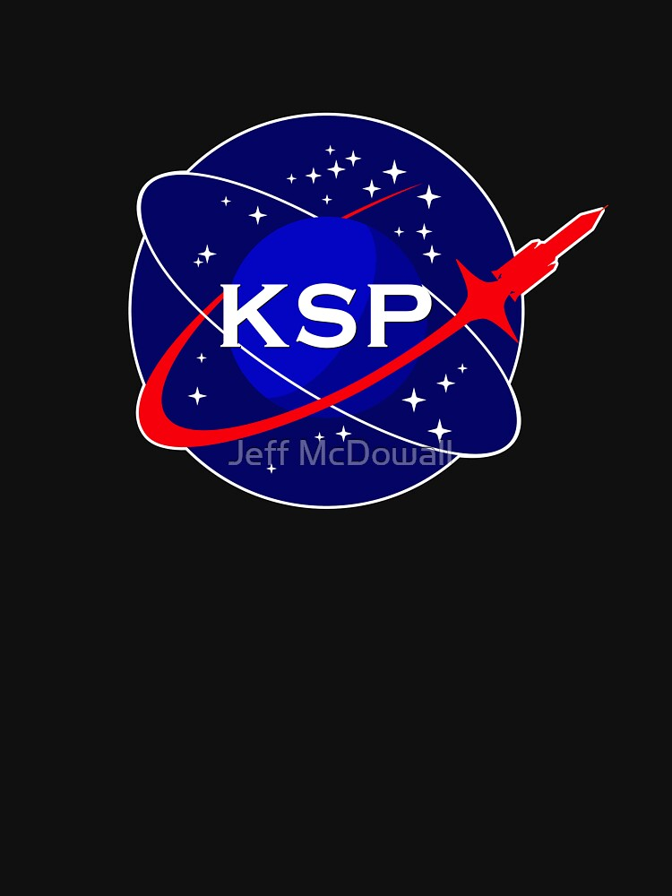KSP Space Agency logo | Unisex T-Shirt