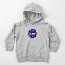 KSP Space Agency logo Toddler Pullover Hoodie