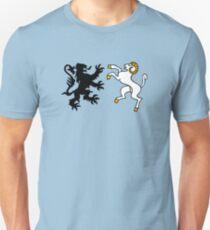 finistère lion et bouc breton bretagne T-shirt unisexe