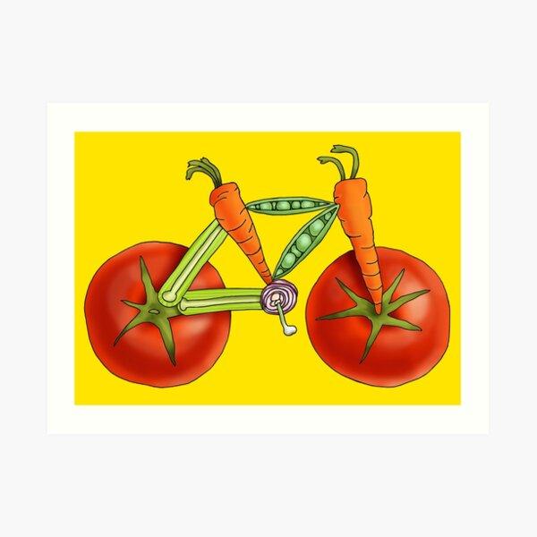 Vegetabike Art Print