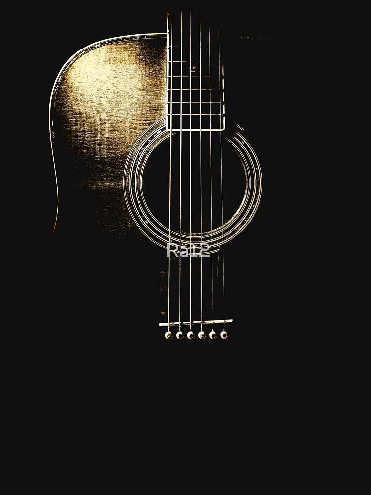 TShirtGifter presents: Acoustic Guitar Lite (please see description) | Unisex T-Shirt