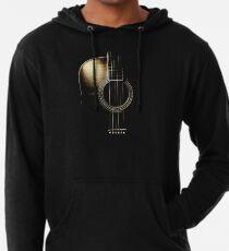 Sudadera con capucha ligera Guitarra acústica Lite (ver descripción)