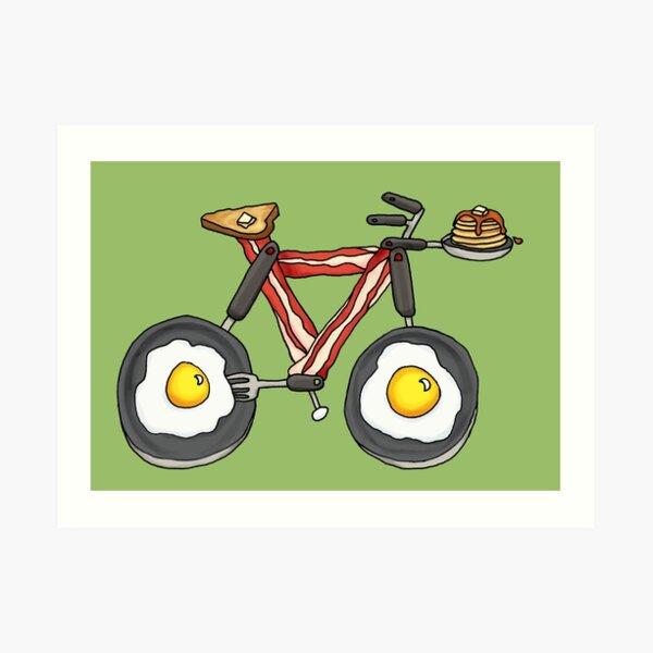 Frycycle Art Print
