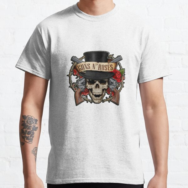 Geek Guns N Roses Names As The Beatles Axl Slash Shirt for Men Black