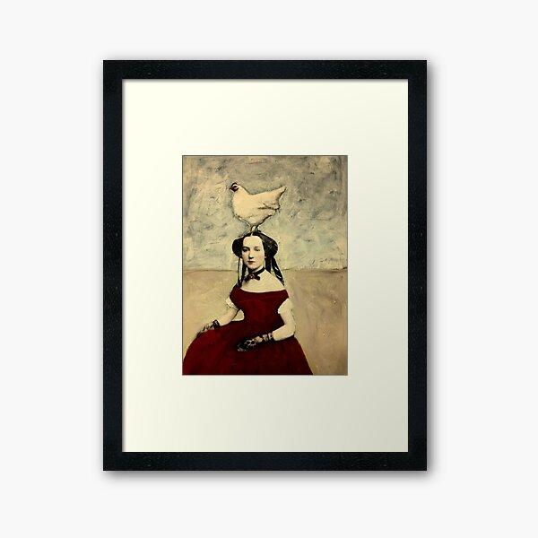 Queen Hen Framed Art Print