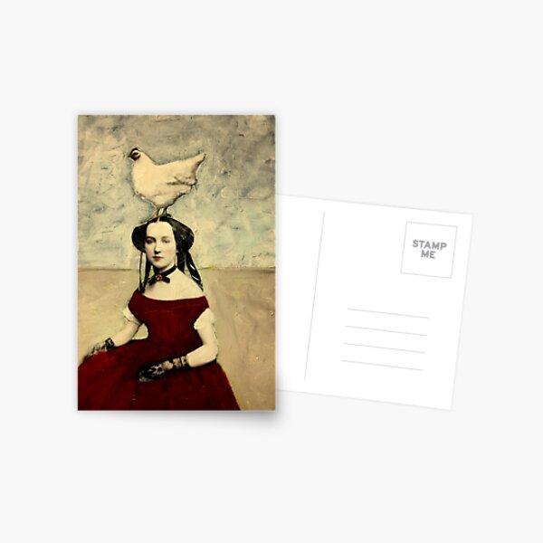 Queen Hen Postcard