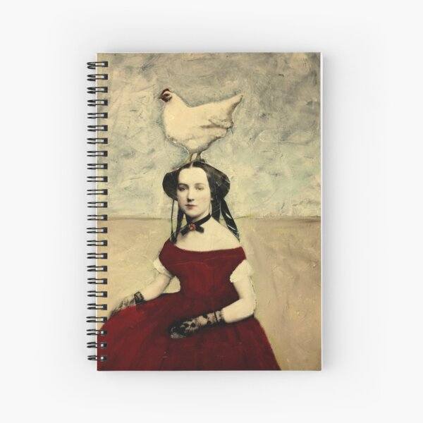 Queen Hen Spiral Notebook