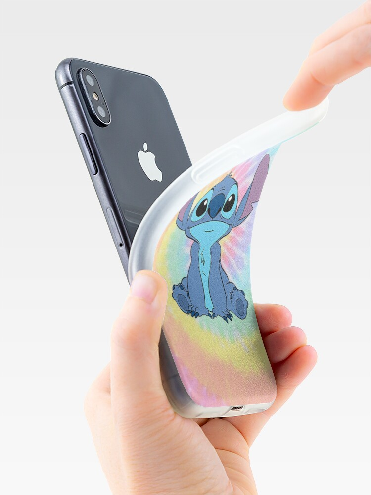 Alternate view of colorfull Stitch iPhone Case & Cover