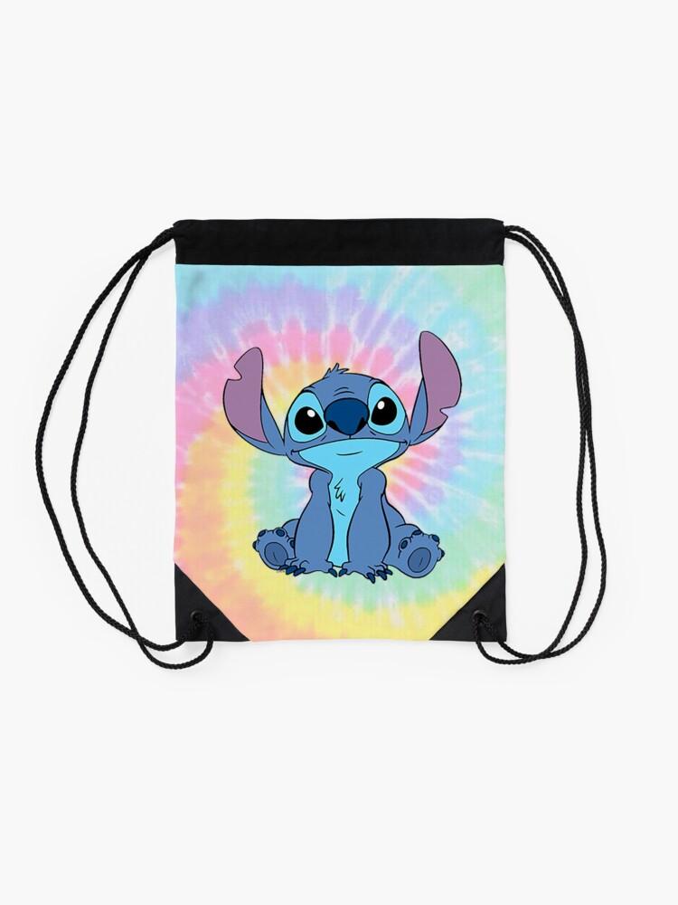 Alternate view of colorfull Stitch Drawstring Bag