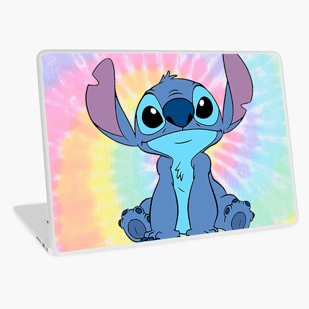 colorfull Stitch Laptop Skin