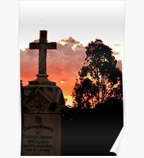 Junee Sunset Poster