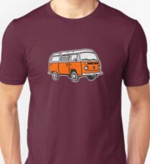 Bay Window Campervan Orange (please see notes) Unisex T-Shirt