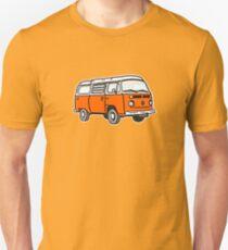 Bay Window Campervan Orange (please see notes) T-Shirt