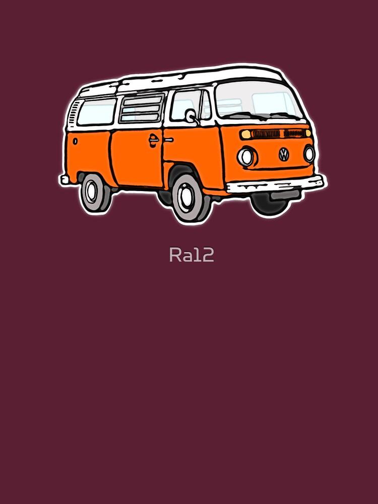TShirtGifter presents: Bay Window Campervan Orange (please see notes) | Unisex T-Shirt