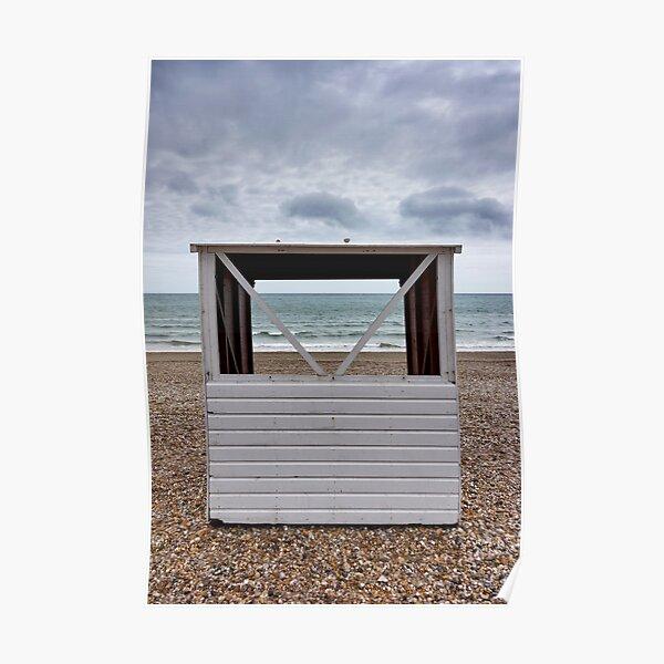 Beach Hut Poster