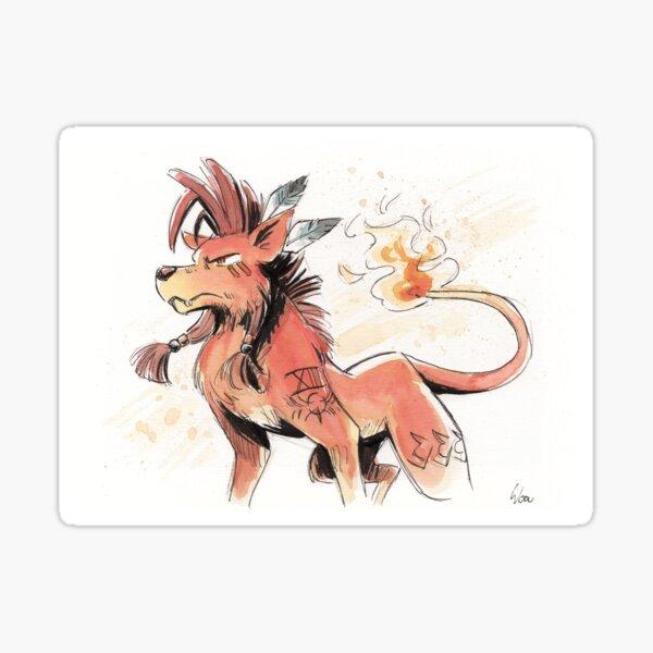 Nanaki RedXIII final fantasy VII  Sticker